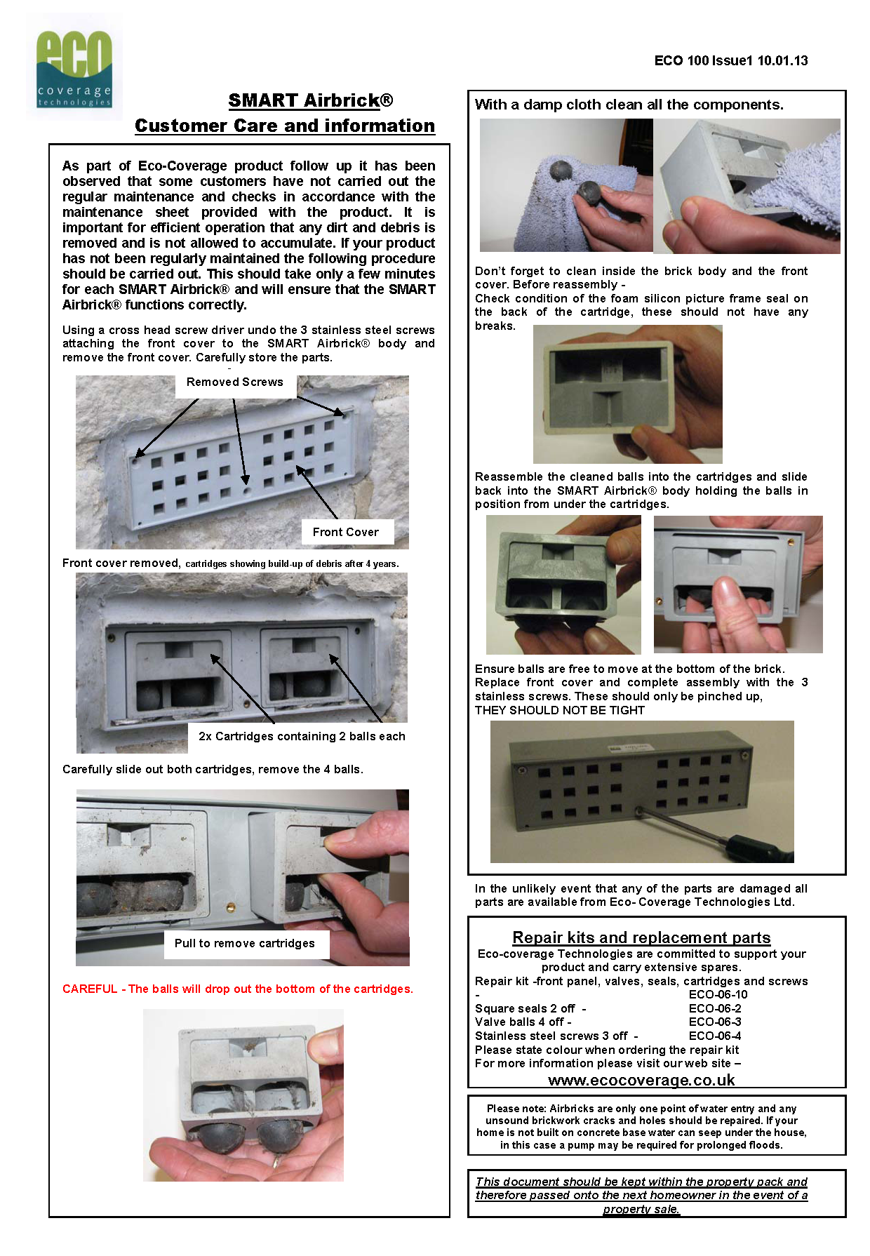 CUSTOMER CARE info issue 1 Final